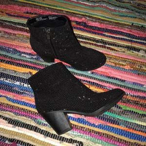 Juicy Couture Sparkle Booties